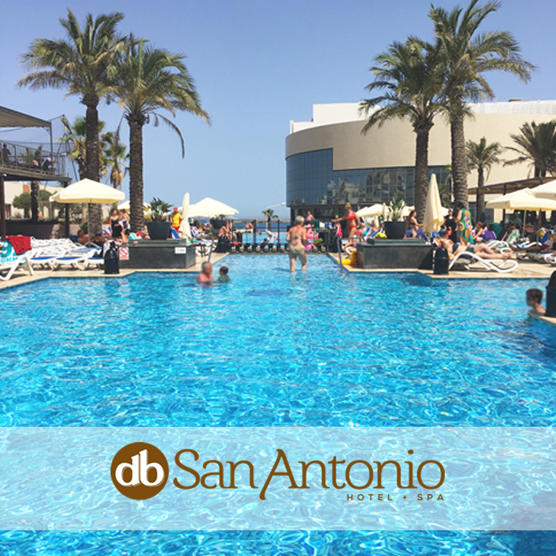 Day By The Pool At The Db San Antonio Hotel Spa Db San Antonio Hotel